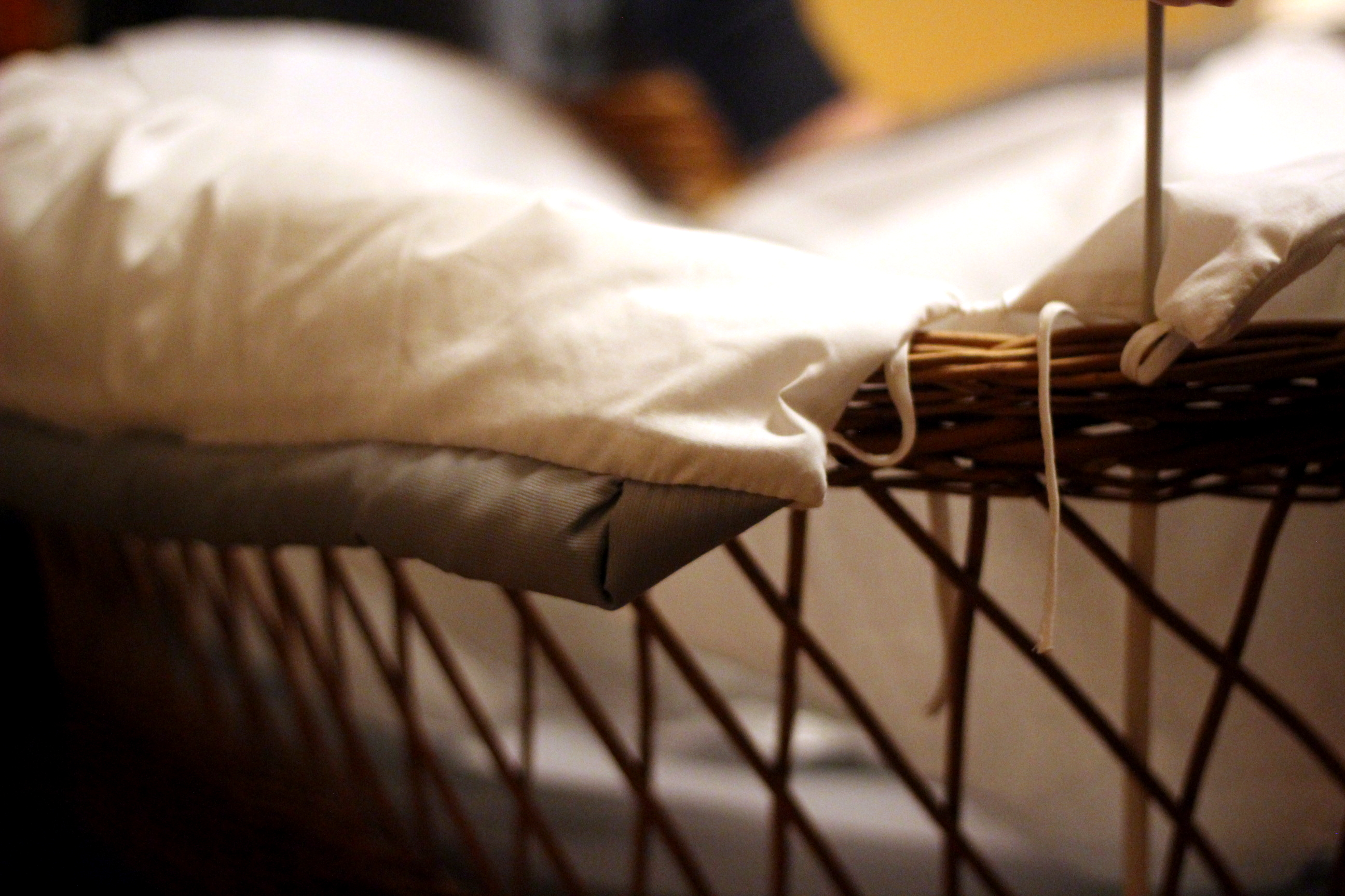 Stubenwagen holz mit rollen babybett babywiege in hessen