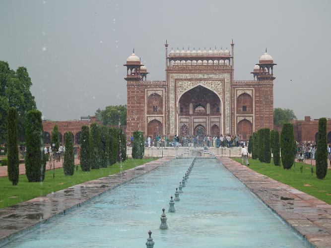 Zwillingsratgeber p1012076 Fahrt zum Taj Mahal